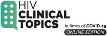 HIV Clinical Topics Logo