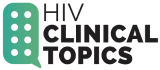 HIV Clinical Topics Logo